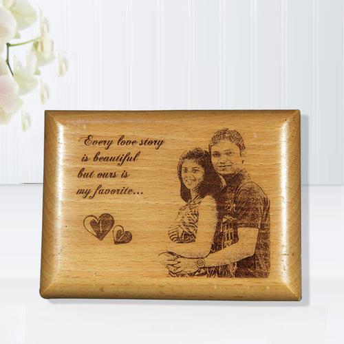 Xu hướng khắc ảnh chân dung lên tranh gỗ ngày càng phổ biến
