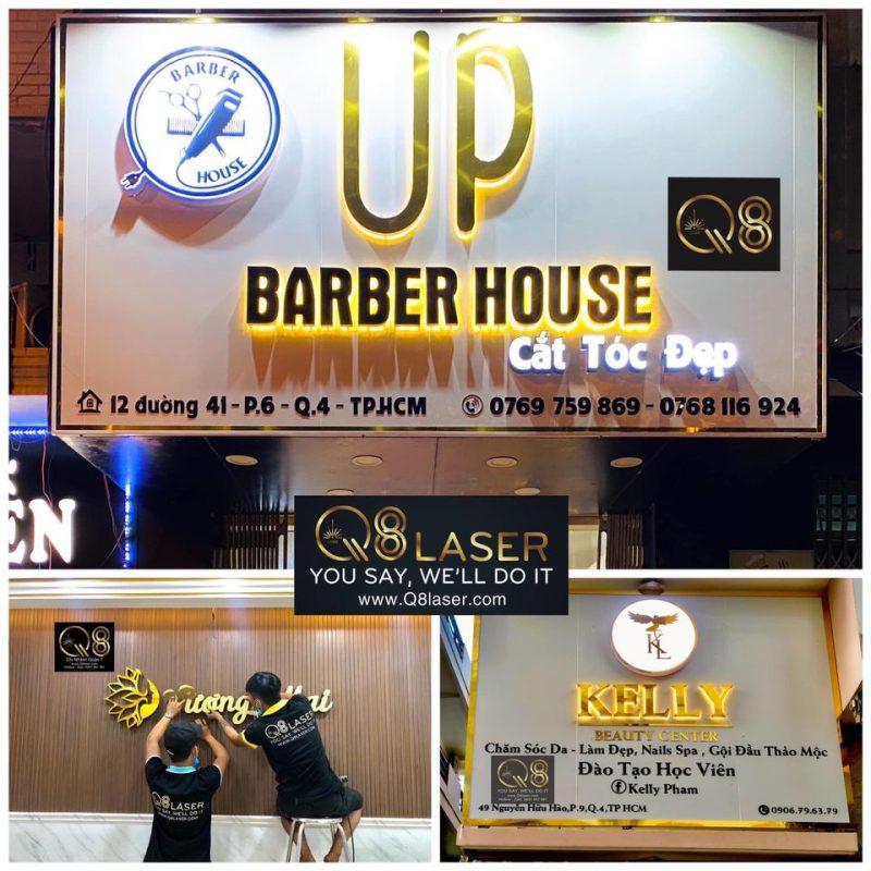 bảng hiệu quảng cáo hair salon