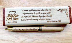 Bút gỗ khắc tên giá rẻ