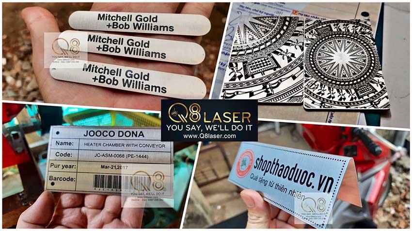 Khắc laser trên inox tại tphcm