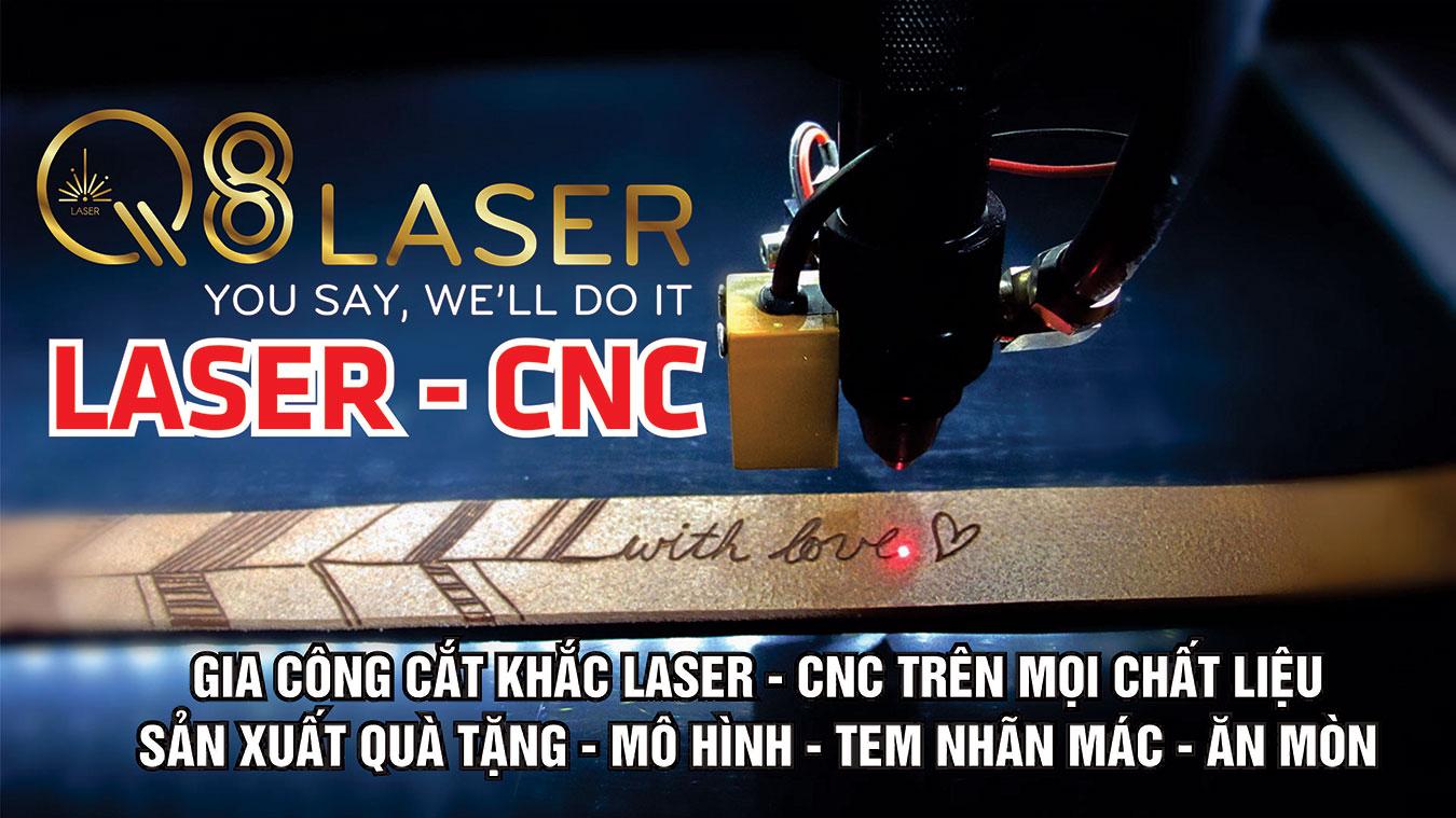 Khăc laser tại Q8 laser Việt Nam