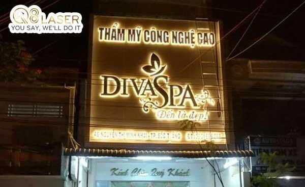 biển quảng cáo spa bằng đèn led
