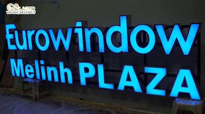 biển quảng cáo chữ nổi đèn led