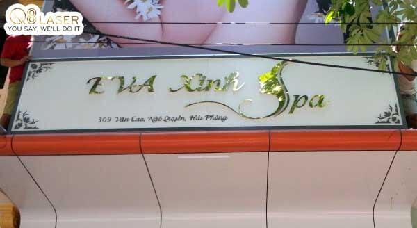 biển bảng quảng cáo spa đẹp nhất