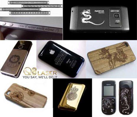 khắc laser điện thoại