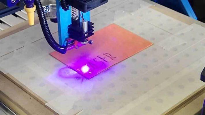 khắc laser diode