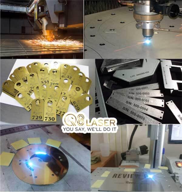 khắc laser khuôn theo mẫu đẹp