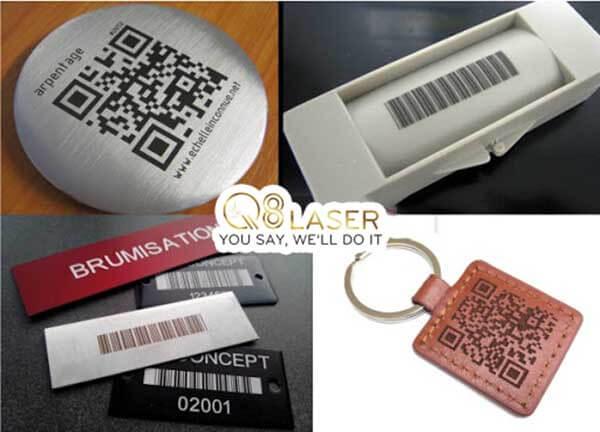 khắc laser mã QR code