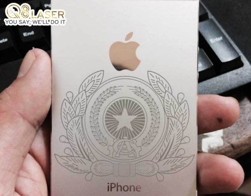 khắc laser iphone