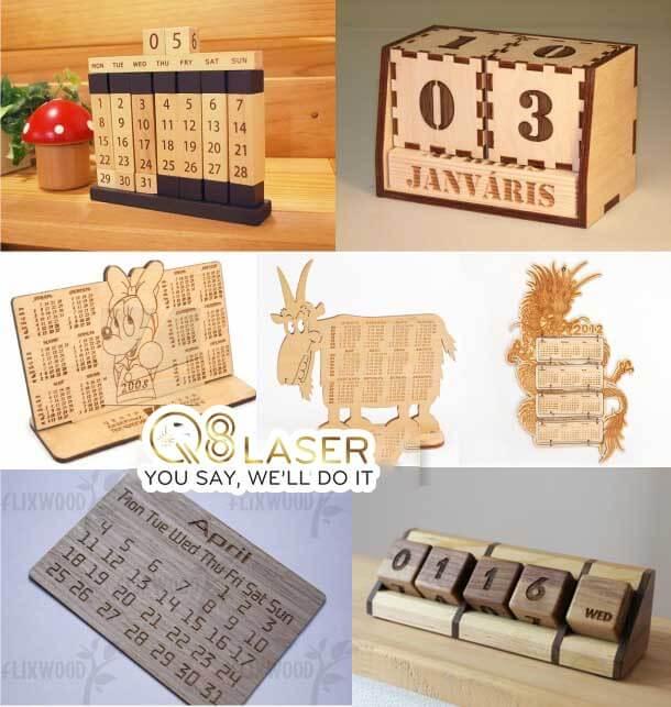 khắc lịch gỗ