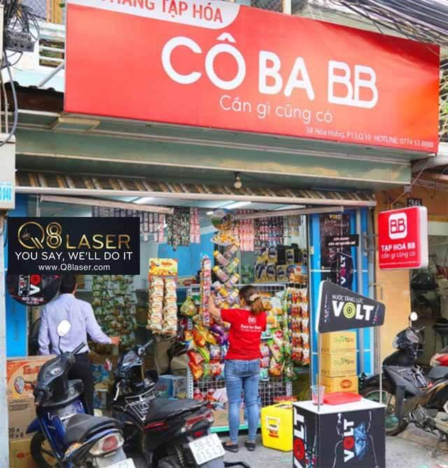 Làm biển quảng cáo cửa hàng tạp hóa