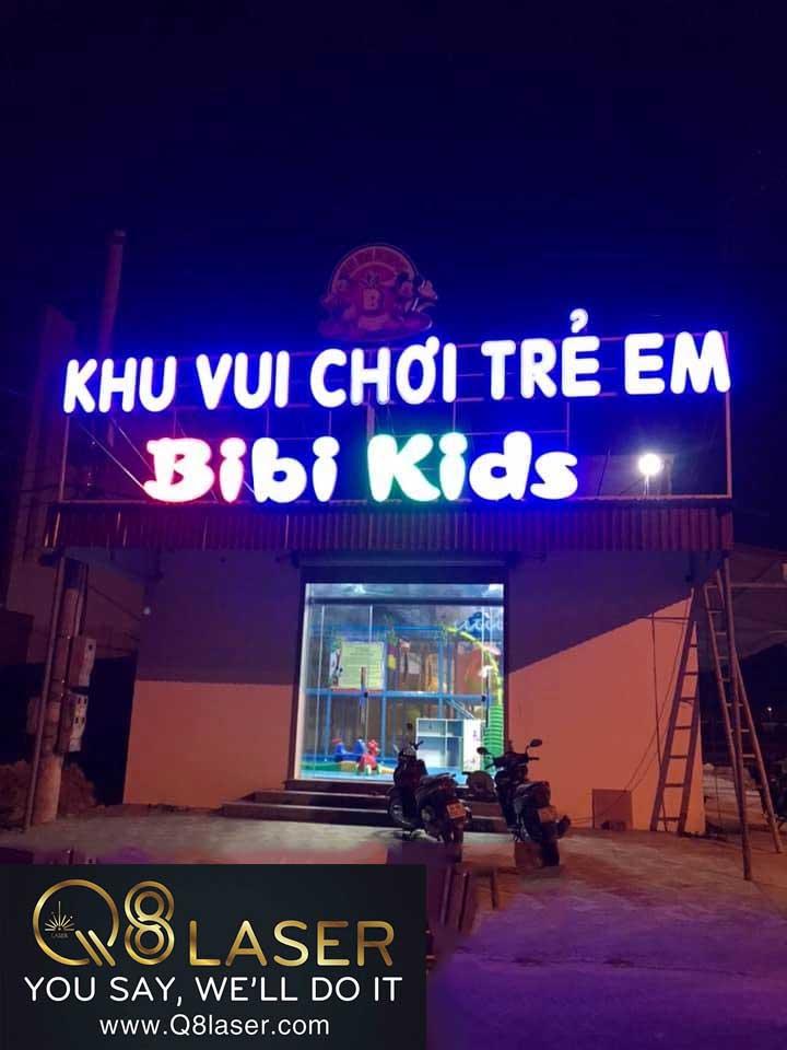 biển quảng cáo vui chơi trẻ em