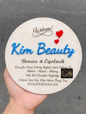biển quảng cáo mỹ phẩm beauty