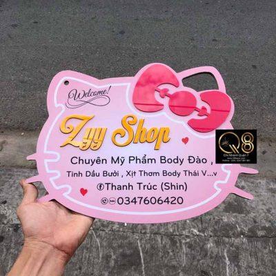 biển hiệu quảng cáo mỹ phẩm