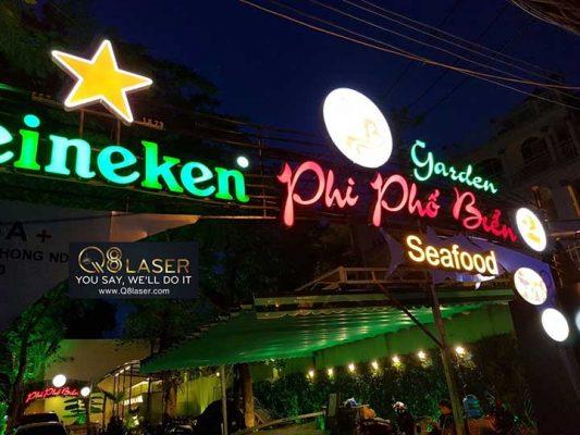mẫu biển quảng cáo nhà hàng ăn uống