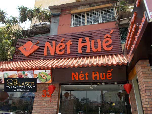 biển quảng cáo nhà hàng ăn uống