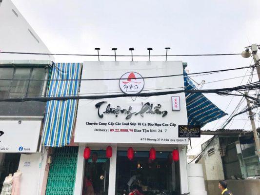 biển quảng cáo thực phẩm
