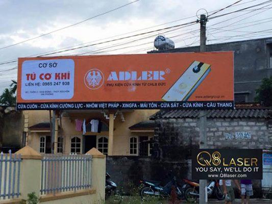 Làm biển quảng cáo xưởng cơ khí