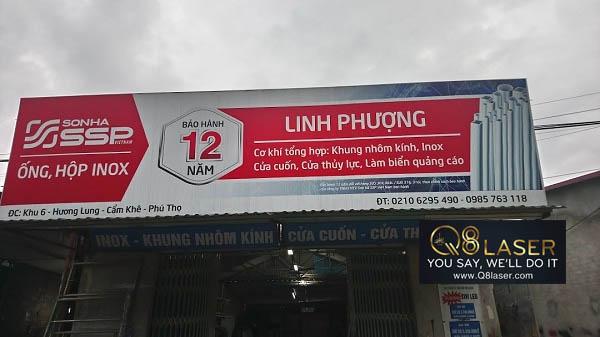 biển quảng cáo cơ khí