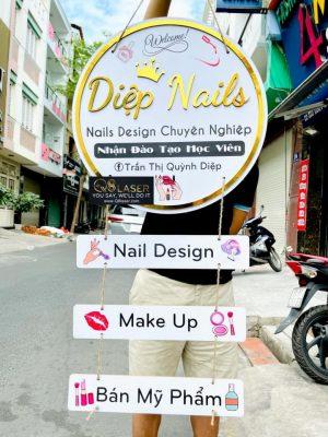 biển quảng cáo nail