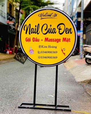 làm biển hiệu quảng cáo nail