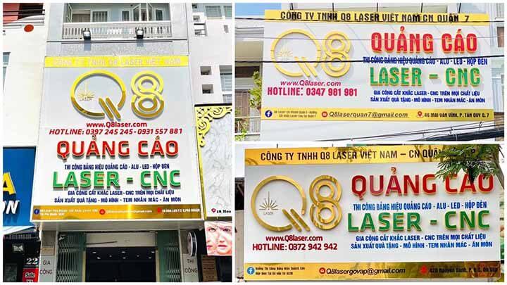 Dịch vụ làm biển hiệu quảng cáo giá rẻ