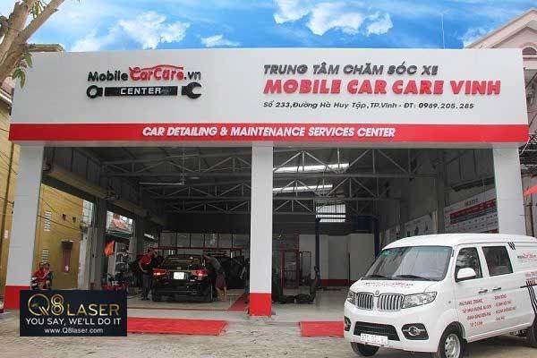 biển quảng cáo rửa xe