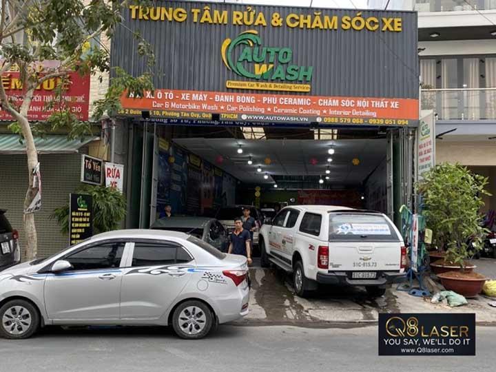 mẫu biển quảng cáo rửa xe ô tô