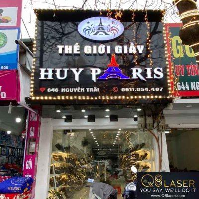 biển quảng cáo shop giày dép