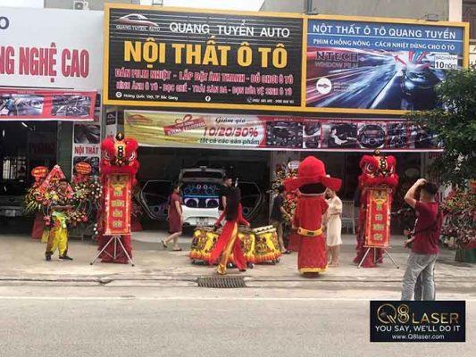 biển quảng cáo nội thất ô tô