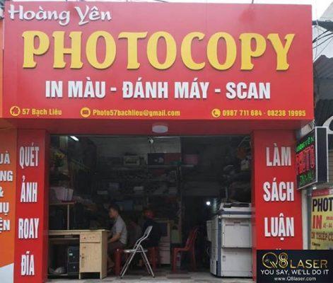 làm bảng quảng cáo photocopy