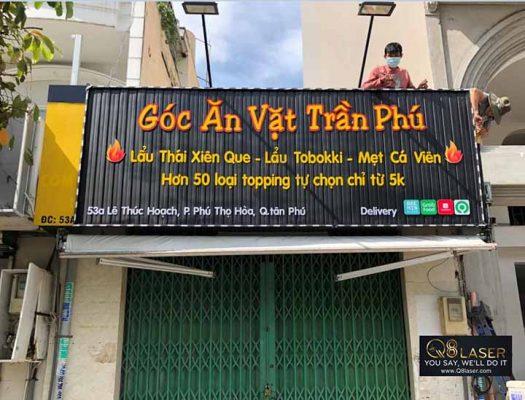 biển quảng cáo quán ăn