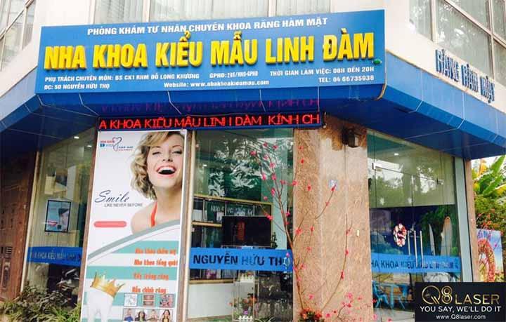 biển quảng cáo răng hàm mặt đẹp