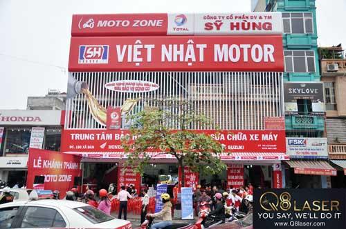 Bảng quảng cáo sửa chữa xe máy