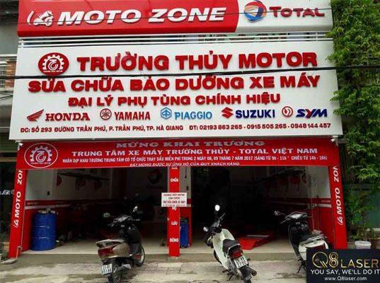 bảng quảng cáo sửa xe máy
