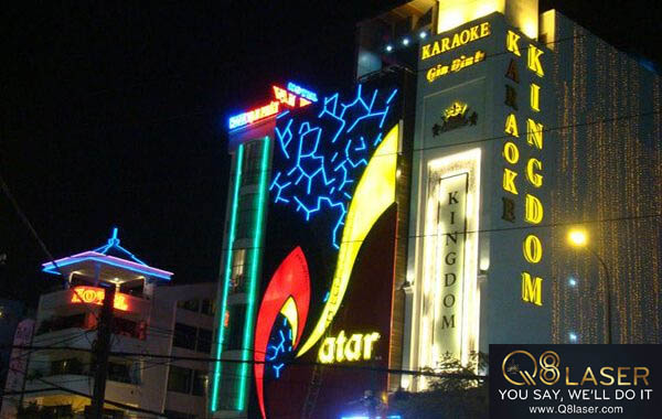 biển quảng cáo karaoke đẹp