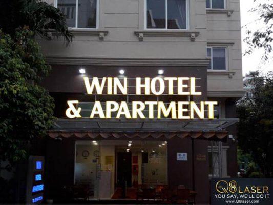 biển hiệu quảng cáo khách sạn