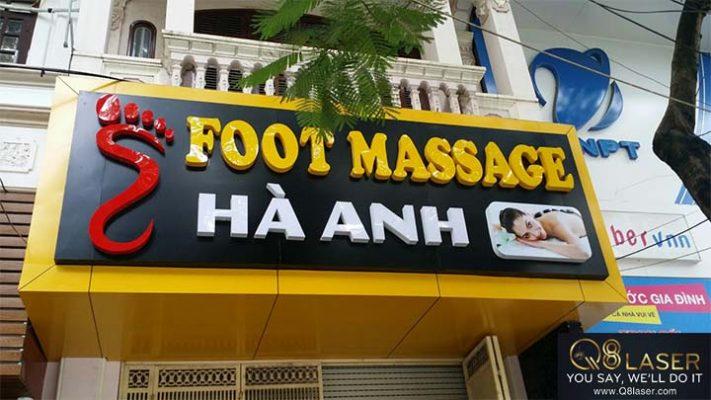 biển quảng cáo massage