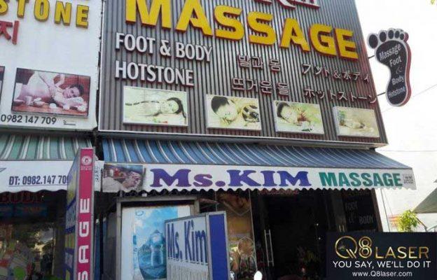 biển quảng cáo massage đẹp nhất