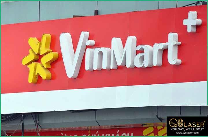 biển quảng cáo siêu thị