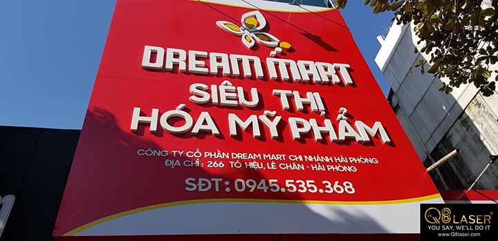 làm biển quảng cáo siêu thị