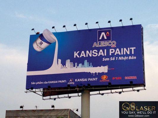 biển quảng cáo sơn