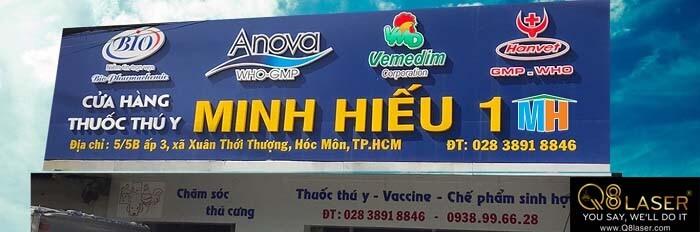 biển quảng cáo thuốc thú ý