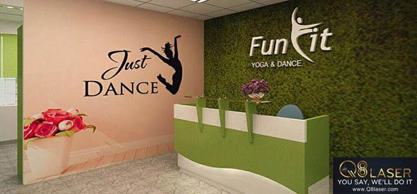 biển quảng cáo yoga đẹp