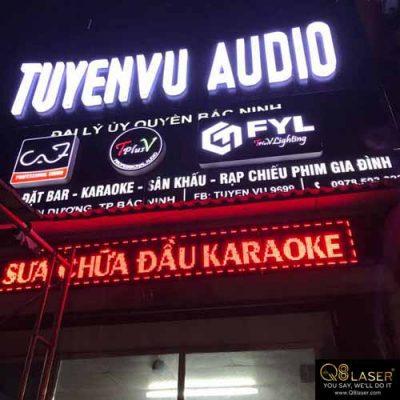 biển hiệu quảng cáo âm thanh chất lượng