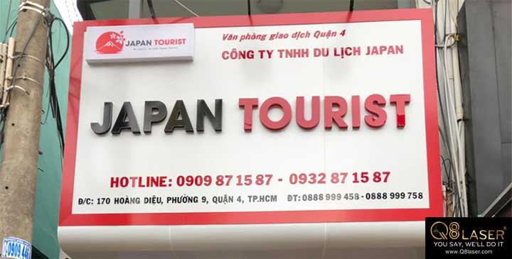 biển quảng cáo du lịch