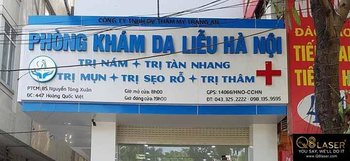 biển quảng cáo phòng khám