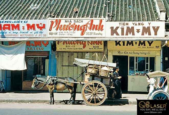 biển hiệu quảng cáo sài gòn xưa