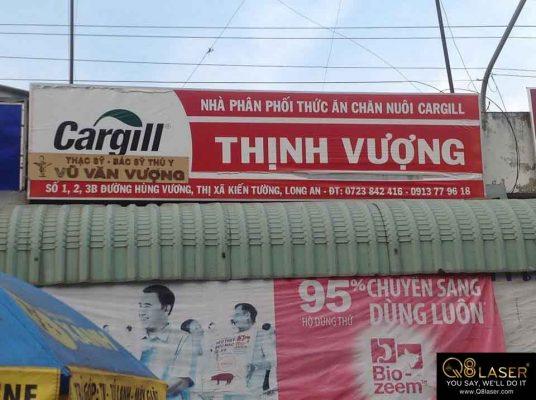 biển quảng cáo thức ăn chăn nuôi