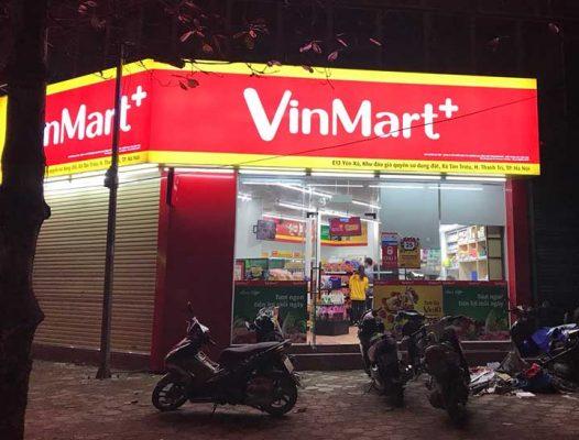 biển quảng cáo vinmart chất lượng cao